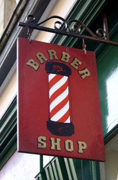 the barber?s pole is as intertwined with the history of the barber ...
