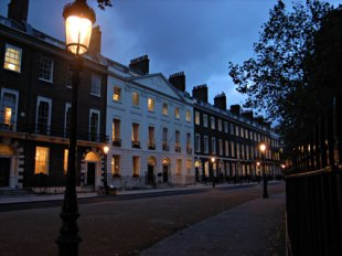 Bedford Square, London, where Mary Hunt died.