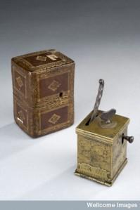 L0057778 Brass scarificator, Italy, 1669