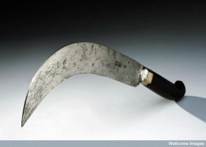Amputation knife, Germany, 1701-1800