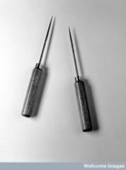 Watts-Freeman lobotomy instruments.