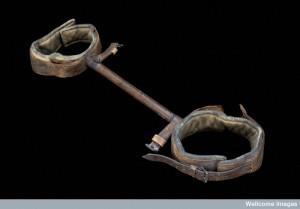 Clover's lithotomy crutch, London, England, 1860-1904