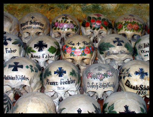 Attractive Remembering The Dead: The Bone House In Hallstatt, Austria   Dr Lindsey  Fitzharris Images