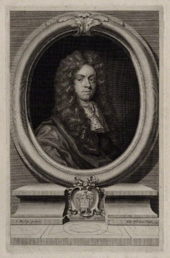 NPG D31564; John Freke by George Vertue, after  John Riley