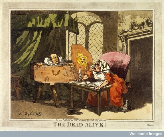 L0031335 The dead alive! H. Wigstead 1784